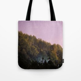 Daynight woodland activities Tote Bag