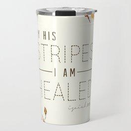 Isaiah 53:5 Travel Mug