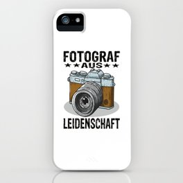 Photographer iPhone Case