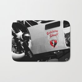 Beech AT-11 in selective color Bath Mat