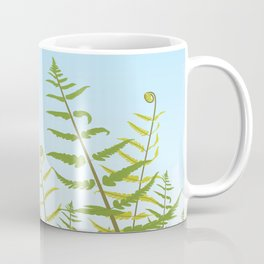 Fiddleheads and Fern Fronds Coffee Mug