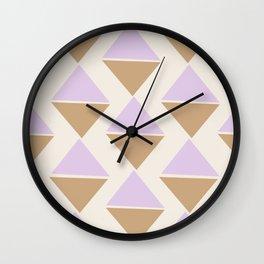 Lavender Ice Cream Wall Clock