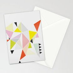 Multicolor Geometric Stationery Cards