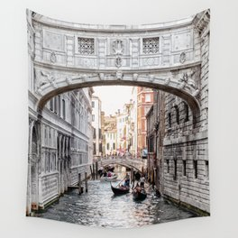 Bridge of Sighs, Venice, Italy (Lighter Version) Wall Tapestry