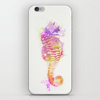 seahorse iPhone & iPod Skins featuring Seahorse by Allison Reich