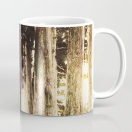 Alone in the woods of Nikko Coffee Mug