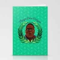 notorious Stationery Cards featuring NOTORIOUS by badOdds