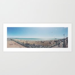 Brighton Beach Art Print