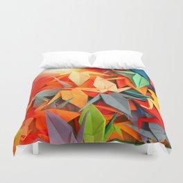 Senbazuru rainbow Duvet Cover