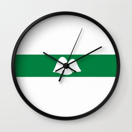 flag of Kurgan Wall Clock