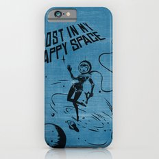 Lost In My Happy Space, blue iPhone 6s Slim Case