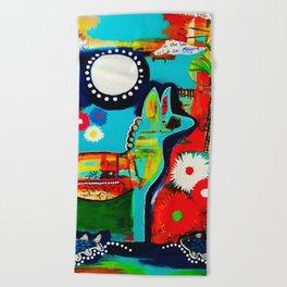 Mexican Love Beach Towel
