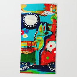 Mexican Love Beach Towel