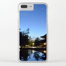 Japanese Dusk #1 Clear iPhone Case