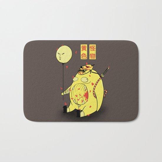 My Yellow Monster Bath Mat