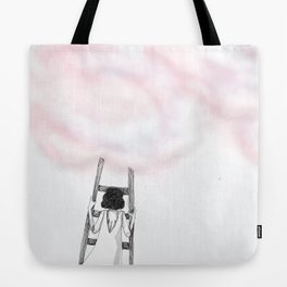 Climbing back up Tote Bag