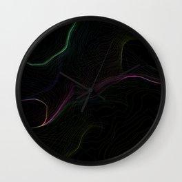 Neon String Wall Clock