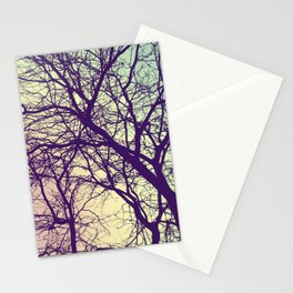 A Network of Tree Branches Stationery Cards