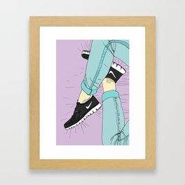 From Where I Sit Framed Art Print