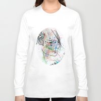anime Long Sleeve T-shirts featuring Anime 3  by Del Vecchio Art by Aureo Del Vecchio