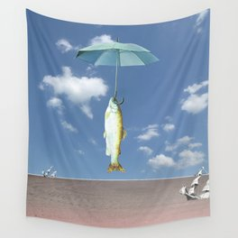 atmosphere · where is the truth Wall Tapestry