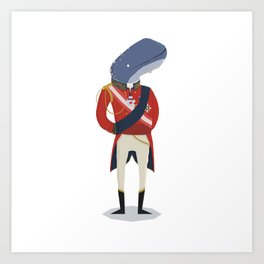 The Duke of Whalington Art Print