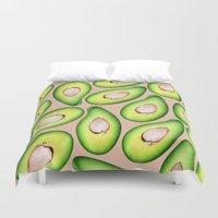 avocado Duvet Covers featuring Avocado by Colocolo Design | www.colocolodesign.de