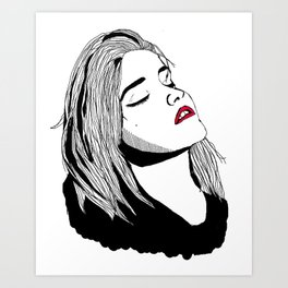 Sky Ferreira Art Print