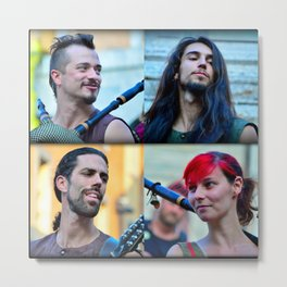 All for one, one for all... Metal Print