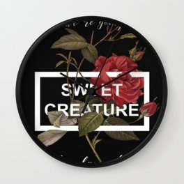 HARRY STYLES - Sweet Creature Art Wall Clock