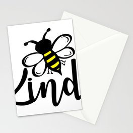 Bee Kind Bumblebee Be Kind Stationery Cards