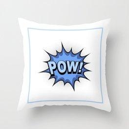 POW! Comic Book Throw Pillow