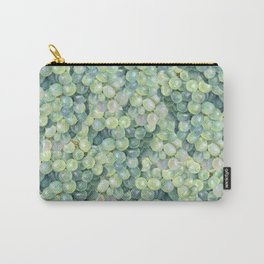 Green Grape Pattern Carry-All Pouch