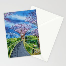 Super Supertrees Stationery Cards