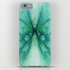 Butterfly Blue Slim Case iPhone 6 Plus