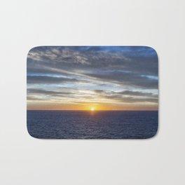 Sunrise at Sea Bath Mat