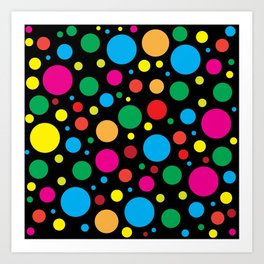 Color Molecúlar Art Print