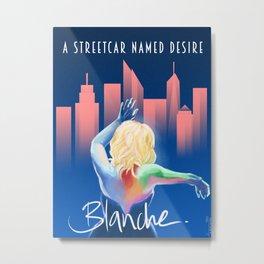 Blanche - NYC Metal Print