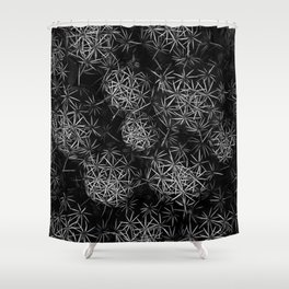 SNOWSPIKE Shower Curtain