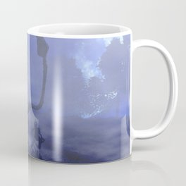 creepy soldier with monster in the moonlight Coffee Mug