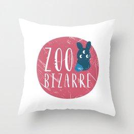 Zoo Bizarre Throw Pillow