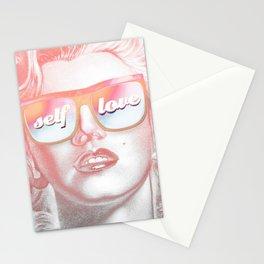 Self love Pop Monroe Portrait Stationery Cards
