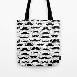 Hipster Mustache Tote Bag