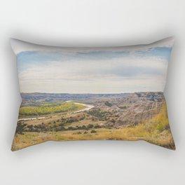 Badlands, Theodore Roosevelt NP, ND 22 Rectangular Pillow