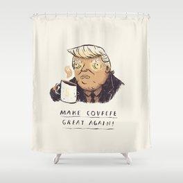 make covfefe great again! trump print Shower Curtain