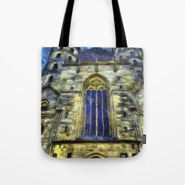 St Stephens Cathedral Vienna Van Goth Tote Bag