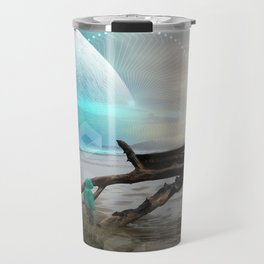 Coastal Space Line Travel Mug