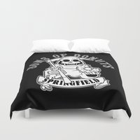 sons of anarchy Duvet Covers featuring Sons Of Donuts / Full version by Adrien ADN Noterdaem