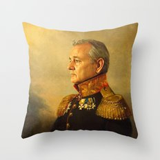 Bill Murray - replaceface Throw Pillow