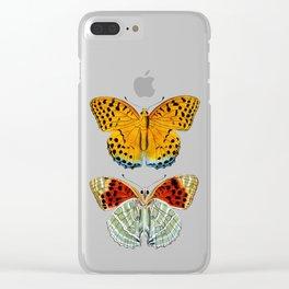 Butterflies (Argynnis Childreni) Clear iPhone Case